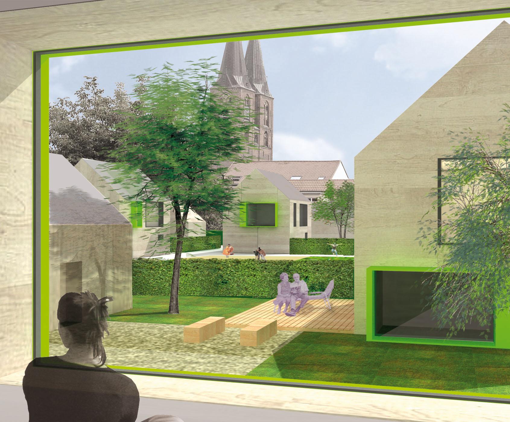 Bild: 1. Preis – Städtebauliches Gutachterverfahren Quartier Rohrstraße/ Karnipp in Stendal
