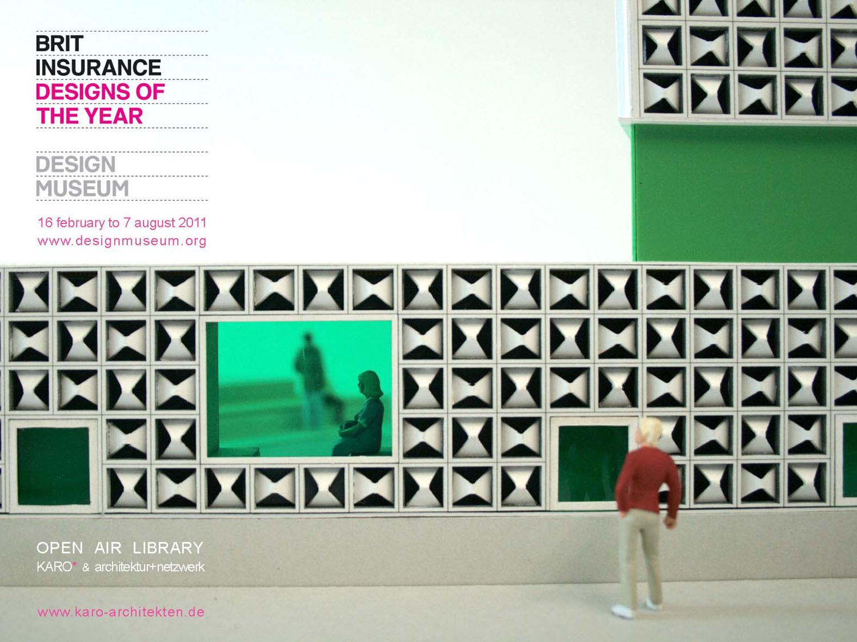 Bild: Brit Insurance Design Award für das Lesezeichen