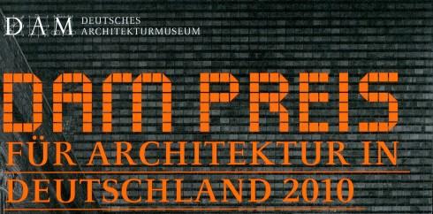Bild: DAM Preis für Architektur in Deutschland 2010