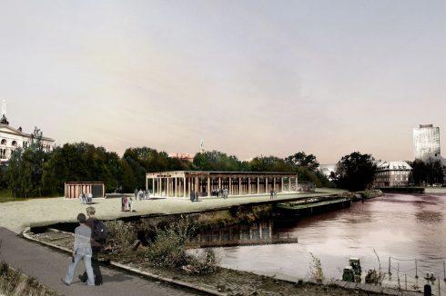Bild: Very New Brutalism – Temporäre Kunsthalle am Berliner Humboldthafen