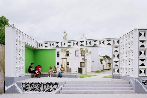 Bild: Anerkennung beim Deutschen Architekturpreis 2011 für das Lesezeichen Salbke