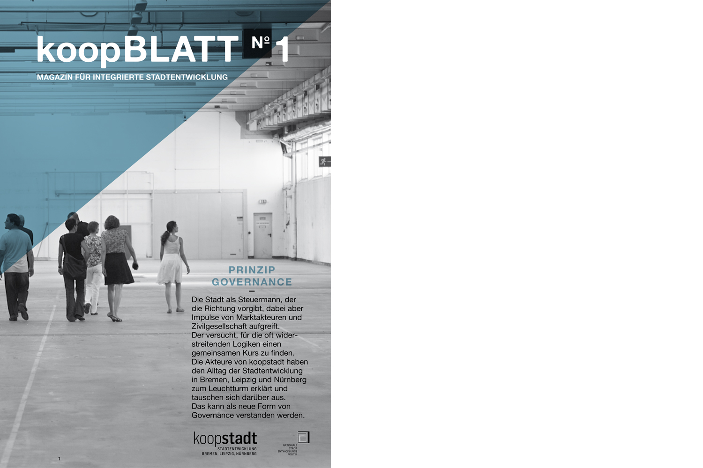 Bild: koopBLATT – Magazin für integrierte Stadtentwicklung erschienen