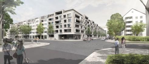 Bild: Lückenschluss in Dresden – Entwurf eines Mehrfamilienhauses für die Wohnungsgenossenschaft Johannstadt eG