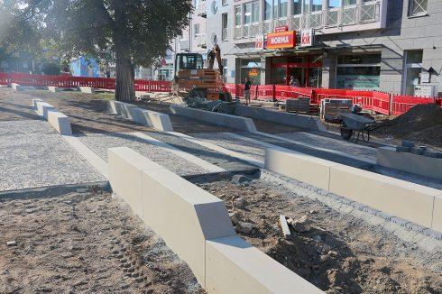 Bild: Magistralenentwicklung Georg-Schumann-Straße – Baustart am Möckernschen Markt