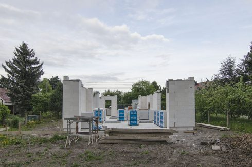 Bild: Baustart Haus B+D