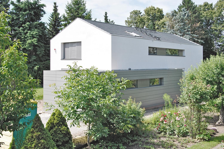 Bild: Fertigstellung »Haus B+D«