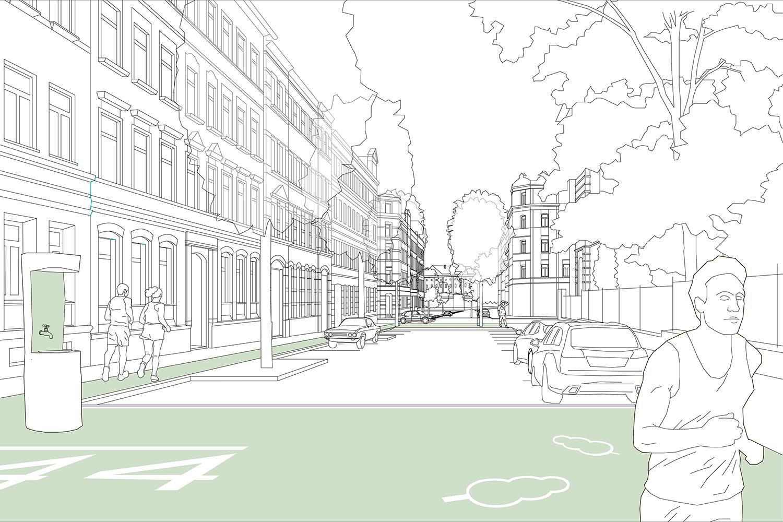Bild: Diese Promenade kann den Sonnenberg stärker machen